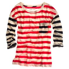 Striped Transmission Tee @Madewell, sold out