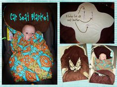 Toad's Treasures: Car Seat & Stroller Blanket + Pattern