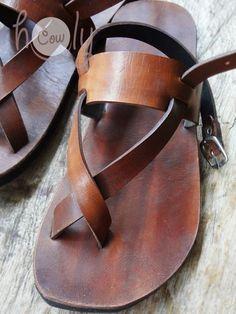 Handmade Sandals Leather Sandals Mens Sandals. Womens