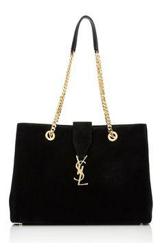 Top 5 Saint Laurent Bags on Sale Chain Shoulder Bag, Leather Shoulder Bag, Tote Handbags, Purses And Handbags, Saint Laurent Bag, Monogram Tote, Luxury Bags, Bag Sale, Michael Kors Jet Set