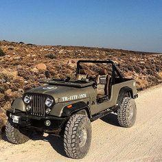 #Jeep CJ8 #Scrambler