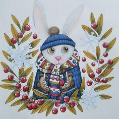 "205 Likes, 40 Comments - ⏺Veronika (@veronikamariam) on Instagram: ""Finished this cute bunny from Sagolikt/Fairytails today  #sagolikt #fairytales #lidehalloberg…"""
