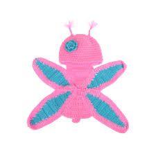 Resultado de imagem para fantasia de croche para bebe borboleta