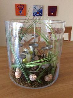 Hearth, Terrarium, Home Decor, Random Stuff, Corning Glass, Ideas, Log Burner, Terrariums, Home