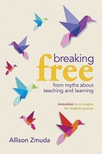 """Win a free copy of """"Breaking free from myths about teaching and learning""""! Blog post also has a video of the author talking about how to help kids see failure as part of the learning journey."""