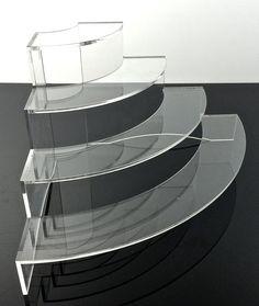 Items similar to Clear acrylic display, acrylic stand, acrylic riser on Etsy
