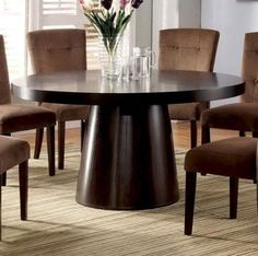 Havana Round Dining Table in Espresso by Furniture of America by Furniture of America, http://www.amazon.com/dp/B009OJ73P8/ref=cm_sw_r_pi_dp_PjZ8rb0HB462N