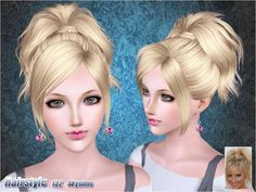 Underneath the Sims 3: Free Skysims Hair 132 + Butterfly Sims 092 & 093 (Donated)