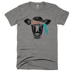 Hippie Cow Short sleeve soft graphic t-shirt