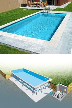 best creative small swimming pool design for backyard inspiration 20