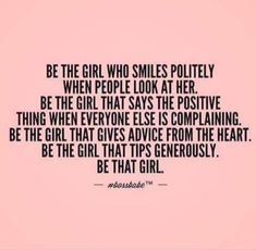 I am that girl!!