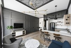 Apartment in a restored 1900s residence with a modern and eclectic decor Old Town of Vilnius Vilnius Lithuania [36402446]