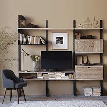 Bookshelves, Modern Bookcases & Contemporary Bookshelves | West Elm....I feel like I could do this myself for less than $3000.