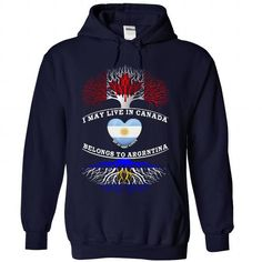 CANADA And ARGENTINA - #basic tee #hoodies for teens. BUY NOW => https://www.sunfrog.com/Christmas/CANADA-And-ARGENTINA-8314-NavyBlue-Hoodie.html?68278