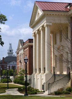 Georgia College, east side of main campus