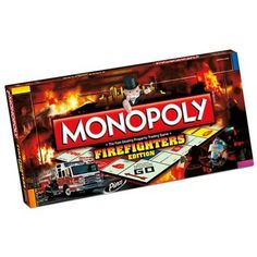 Firefighter Monopoly Board Game | VIPs Save 10% & Free Shipping - OurDesigns.com