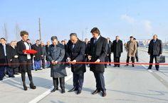 Inauguraron dos secciones del corredor de transporte Norte-Sur de la ruta principal que extenderán más de 550 kilómetros a Georgia e Irán.