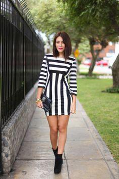 estilozas: Mis looks: Vestido de rayas