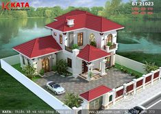 Look up many a large number of luxury properties, apartments, house, condominiums. House Front Design, Small House Design, Dream Home Design, Modern House Design, House Plans Mansion, Dream House Plans, Modern House Plans, Bungalow Haus Design, Modern Bungalow House