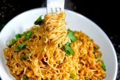 Spicy Chili Scallion Noodles