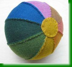 felted ball tutorial