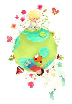 Little Planet :: by Zouap on DeviantArt