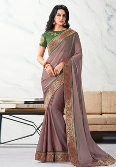 Buy Shaded Pink Chiffon Festival Wear Saree 203755 with blouse online at lowest price from vast collection of sarees at Indianclothstore.com. Western Union Money Transfer, Long Cut, Chiffon Saree, Pink Fabric, Blouse Online, How To Dye Fabric, Color Shades, Festival Wear, How To Wear