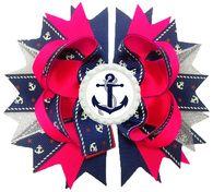 Anchor Bow. $10. http://www.sassnfrass.net/#a_aid=SweetAndSassy