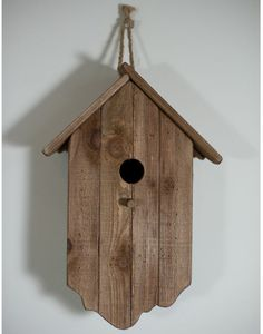 Birdhouses | Rustic Wooden Birdhouse from The Orchard | Birdhouses - furnish.co.uk