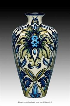 Moorcroft Pottery - SABRATHA design by Rachel Bishop