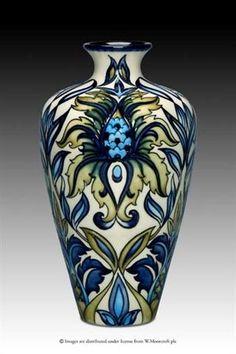Moorcroft Pottery - SABRATHA design by Rachel Bishop