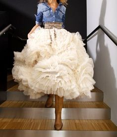 My Dress <3 This! with Cuter cowboy boots and  this jean top..  Casual Chic, its Perfect!<3 @yoliiie55