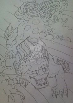 foo_dog_tattoo_design_by_k_far-d2yajbi.jpg (753×1062)