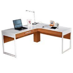Active L-Shape Desk - Office Furniture | $479.00 - Milan Direct