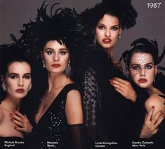 The Most Beautiful Women in the World Wear Revlon. My favorite.