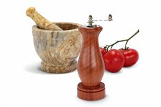 Jarrah Crank Handle Pepper Mill | Australian Woodwork - FREE Gift Wrapping - FREE Handwritten Gift Card - Fast Same Day Shipping - FREE Shipping for orders over $100 - Our usual Money Back Quality Guarantee!