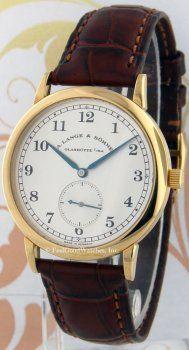 A. Lange & Sohne 206.021 1815, Yellow Gold Price $12,300.00
