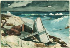 After the Hurricane, Bahamas by Winslow Homer