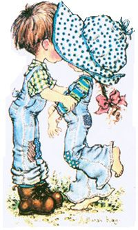 Immagini Sara Kay e Holly Hobbie Sarah Key, Holly Hobbie, Sarah Kay Imagenes, First Kiss, Digi Stamps, Cute Illustration, Illustrations, Vintage Pictures, Paper Dolls