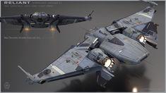 Star Citizen ship.