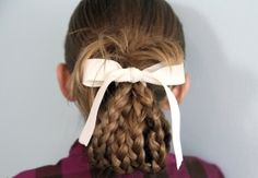 Bundled Braids | Cute Hairstyles and more Hairstyles from CuteGirlsHairstyles.com