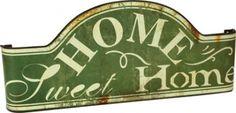 """Placca metallo""""Home"""""""