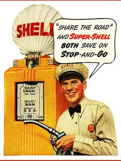 Shell gas ad