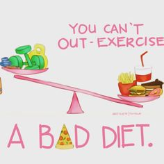 Ain't that the truth  30% gym, 70% diet. I used to think spending hours at the gym would get me results. Not until I started combining my workouts with a healthier diet did I actually see results. Best part...I have cut my workouts in half while seeing double the results.
