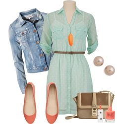 """""""casual spring day"""" by flossmint on Polyvore"""