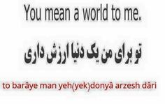 Persian/ Farsi
