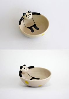 theres a panda chillin in my soup