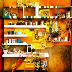 Colorful Anthropologie Display