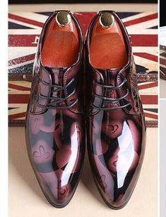 62dd102cf6b Shadow Patent Leather Luxury Shoes