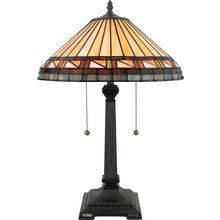 View the Quoizel TF6663 Stained Glass / Tiffany Table Lamp at LightingDirect.com.